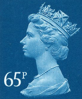 65p Discount GB Postage Stamp (mixed designs)